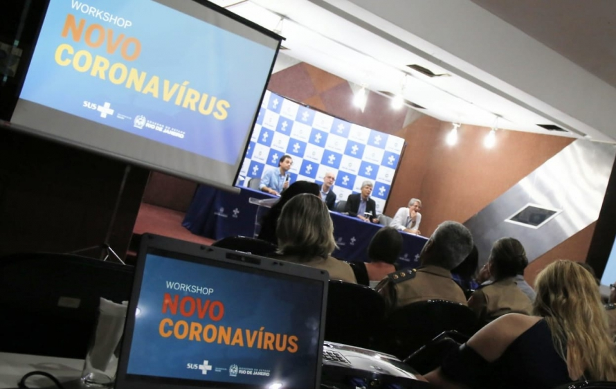 SES promove workshop sobre o Novo Coronavírus