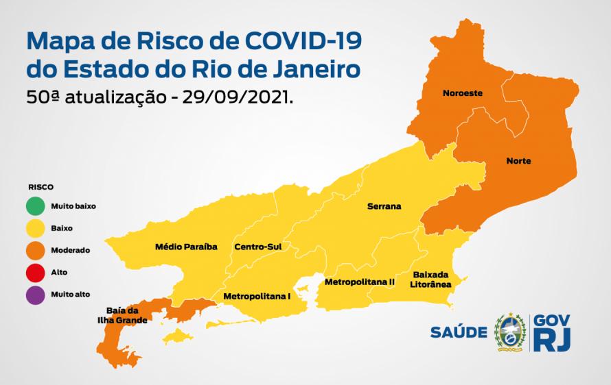 Mapa de Risco Covid-19 chega à 50ª edição com maior redução de óbitos desde o início do estudo